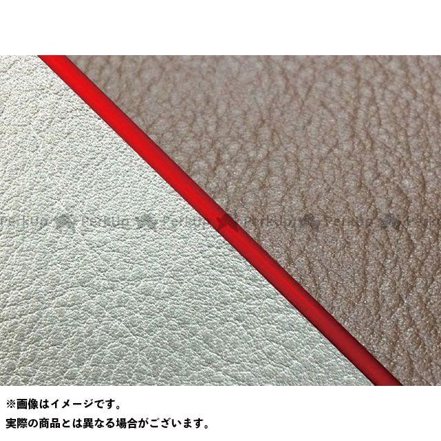 【エントリーで最大P23倍】グロンドマン W650 W650(99年 EJ650A1/C1) 国産シートカバー 張替 ダークブラウン ライン:シルバーライン 仕様:赤パイピング Grondement