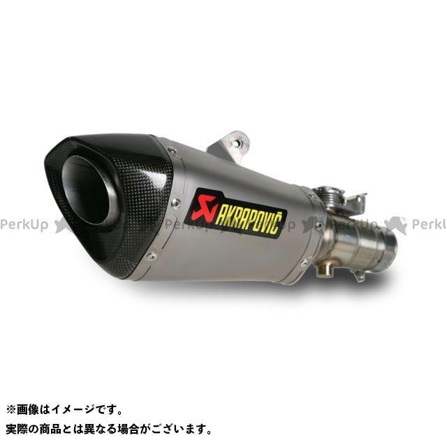 アクラポビッチ YZF-R6 スリップオンマフラー e1(コニカルチタン) 排気バルブ付 AKRAPOVIC