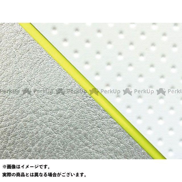 【エントリーで最大P23倍】グロンドマン W650 W650(99年 EJ650A1/C1) 国産シートカバー 張替 フルエンボスホワイト ライン:シルバーライン 仕様:黄パイピング Grondement