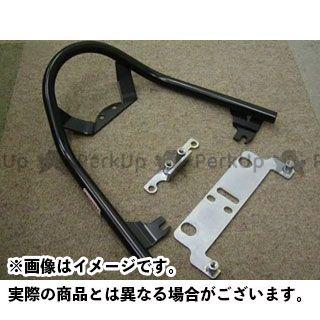 レンテック ニンジャZX-6RR タンデム用品 グラブレール(ブラック)