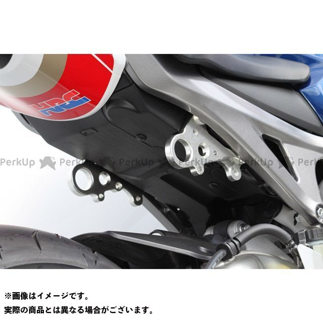 【エントリーで更にP5倍】TSR CBR1000RRファイヤーブレード レーシングタンデムブラケット カラー:シルバー ティーエスアール