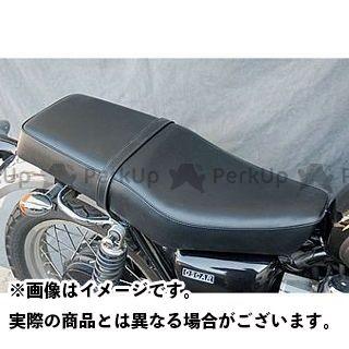 オスカー W400 W650 W800 W650/W400/W800用 ダブルシート カラー:黒パイピング OSCAR