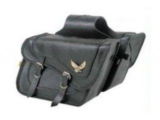 ケンテック KENTEC ツーリング用バッグ サドルバッグ サドルバッグステー付(ブラックマジック・スーパー) シャドウ400(~08)、750(~03)