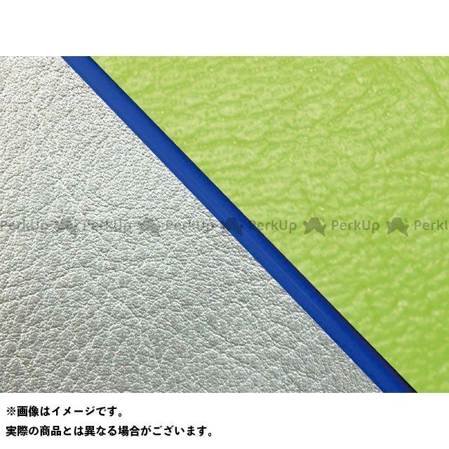 【エントリーで最大P23倍】グロンドマン W650 W650(99年 EJ650A1/C1) 国産シートカバー 張替 ライムグリーン ライン:シルバーライン 仕様:青パイピング Grondement