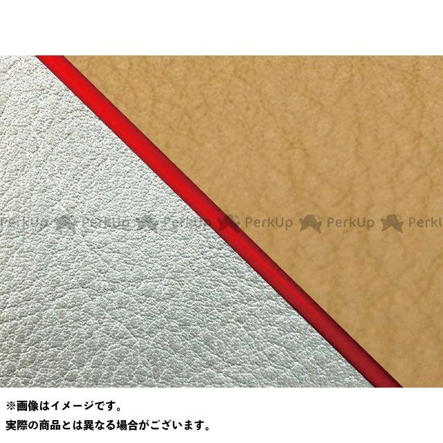 【エントリーで最大P23倍】グロンドマン W650 W650(99年 EJ650A1/C1) 国産シートカバー 張替 黄土色 ライン:シルバーライン 仕様:赤パイピング Grondement