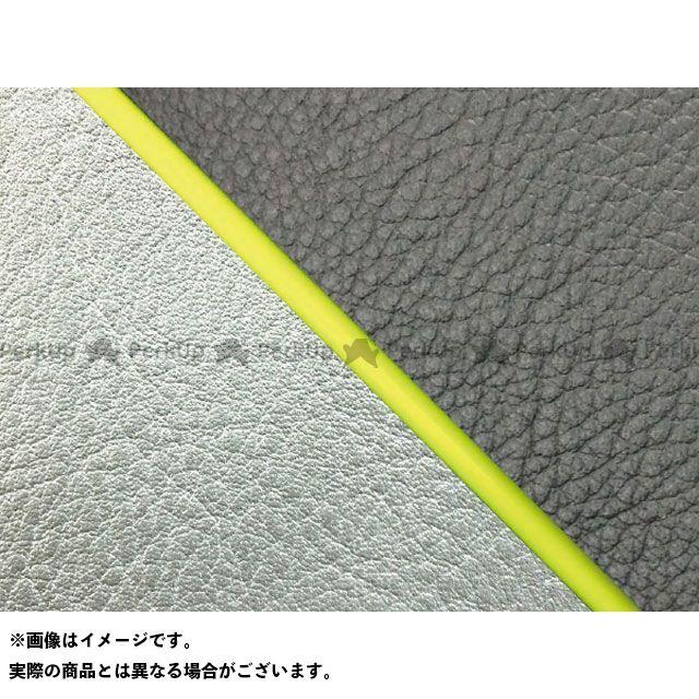 グロンドマン W650 W650(99年 EJ650A1/C1) 国産シートカバー 張替 黒 ライン:シルバーライン 仕様:黄パイピング Grondement