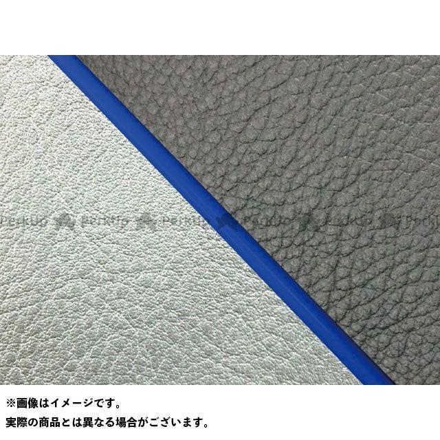 グロンドマン W650 W650(99年 EJ650A1/C1) 国産シートカバー 張替 黒 ライン:シルバーライン 仕様:青パイピング Grondement