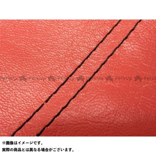 グロンドマン W650 W650(99年 EJ650A1/C1) 国産シートカバー 張替 赤 ライン:- 仕様:黒ダブルステッチ Grondement