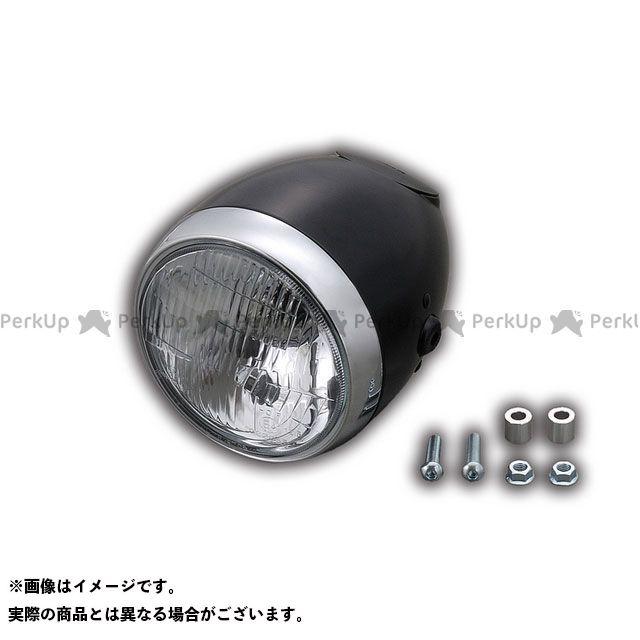デイトナ 汎用 ビンテージスモールヘッドライト カラー:ブラック DAYTONA