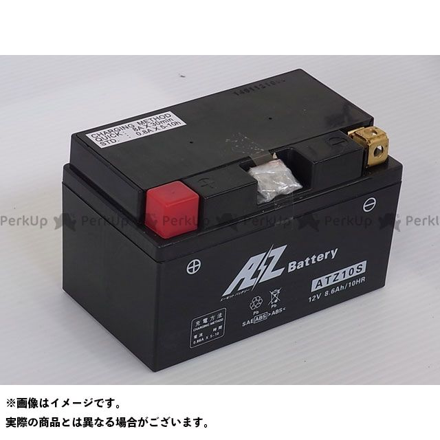 AZ 汎用 オートバイ用バッテリー ATZ10S(液入充電済) エーゼット
