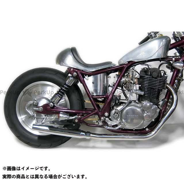モーターロック SR400 SR500 SR400/500用 テーパードマフラー フルエキゾースト タイプ:ダウン Motor Rock
