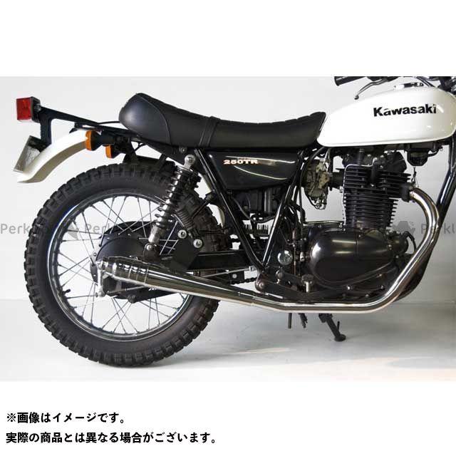 モーターロック 250TR 250TR用 69メガホン フルエキゾースト タイプ:ダウン Motor Rock