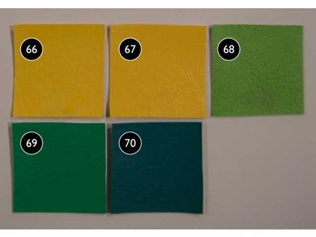 モーターロック 汎用 シート関連パーツ 69シート Yellow & Green No.66 Type2