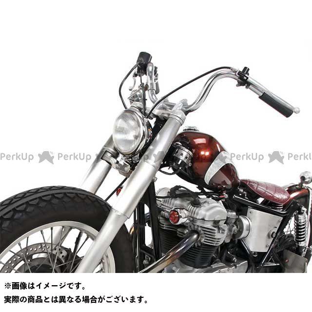 モーターロック W400 W650 W650/400用 フロントフォークカバー ブラック Motor Rock