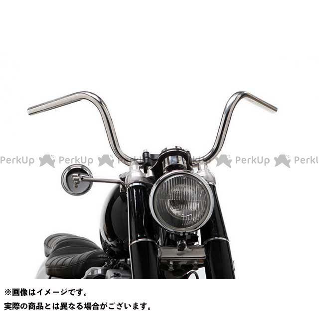 【無料雑誌付き】モーターロック 汎用 69バー LTDスタイル 1インチ 仕様:ディンプル付き カラー:ポリッシュ Motor Rock