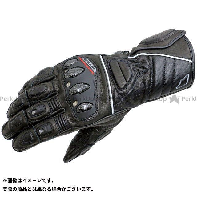 【エントリーで更にP5倍】hit air Glove R3 レーシングレザーグローブ カラー:ブラック サイズ:S ヒットエアー