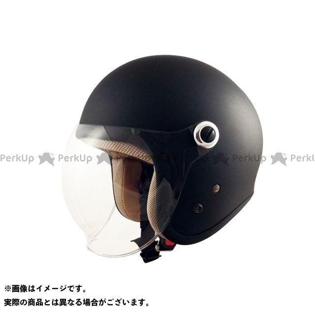 スピードピット GS-6 シールド付きジェットヘルメット Gino マッドブラック SPEEDPIT