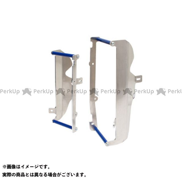 送料無料 エーエックスピーレーシング RM-Z250 ラジエター関連パーツ ラジエターガード(ブルー)