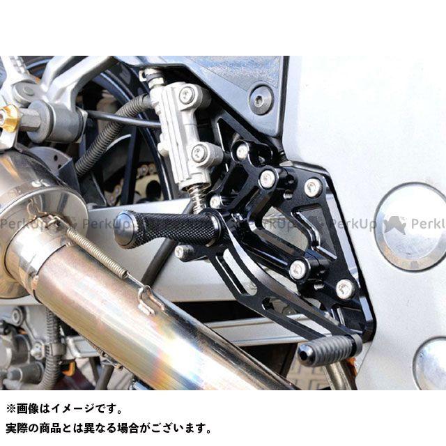 【エントリーで更にP5倍】ウッドストック ZZR1100 バックステップキット(オールブラック) WOODSTOCK