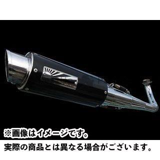 ホットラップ アドレスV125 スポーツマフラー ブラック O2センサー対応 HOT LAP
