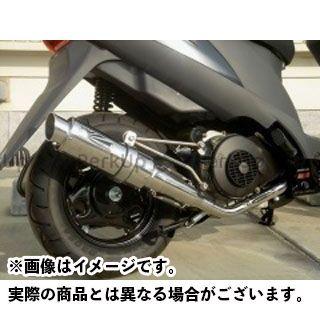 ホットラップ アドレスV125 スポーツマフラー ステンレス キャタライザー付き HOT LAP