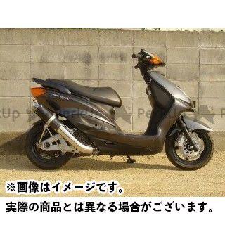 送料無料 ホットラップ シグナスX シグナスX SR マフラー本体 M-SHOT ver1 カーボン
