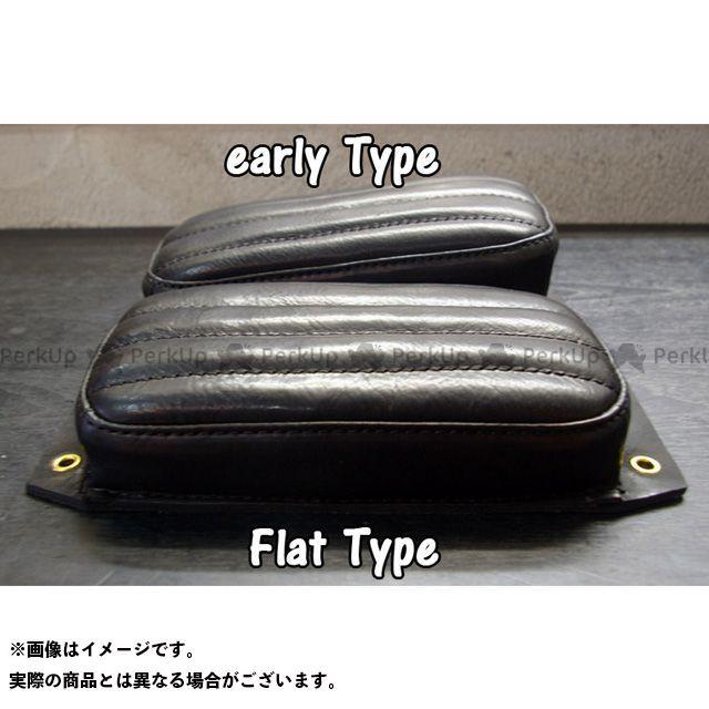 ボートラップ 汎用 BTピリオンパッド カラー:ブラック 仕様:フラット BoatRap