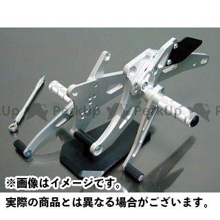 スパイス ゼファー750 ゼファー750RS タクティカルステップ 3ポジション(シルバー)  SPICE