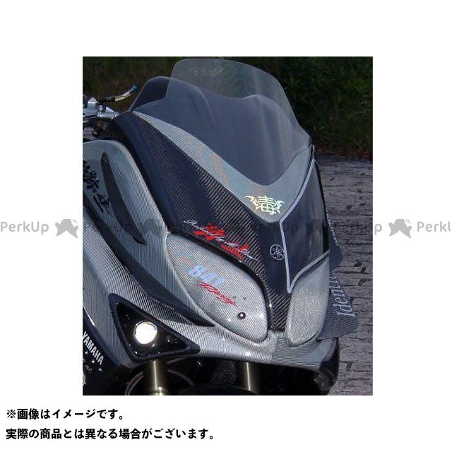 弥生 TMAX500 フロントマスク6 素材:カーボン ヤヨイ