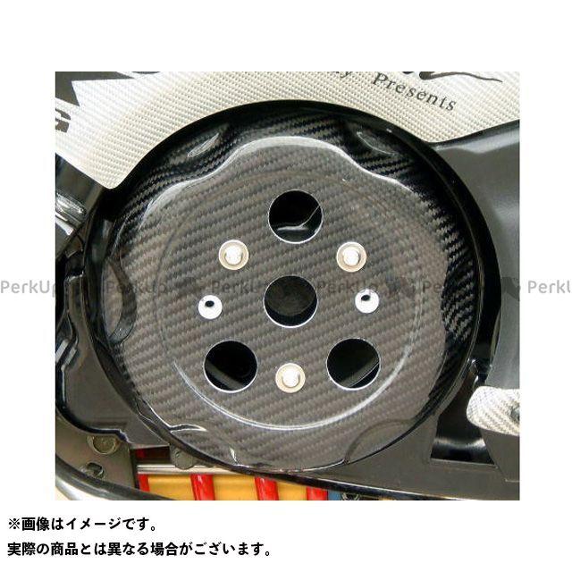 弥生 TMAX500 プーリーケースカバー 素材:シルバーカーボン ヤヨイ