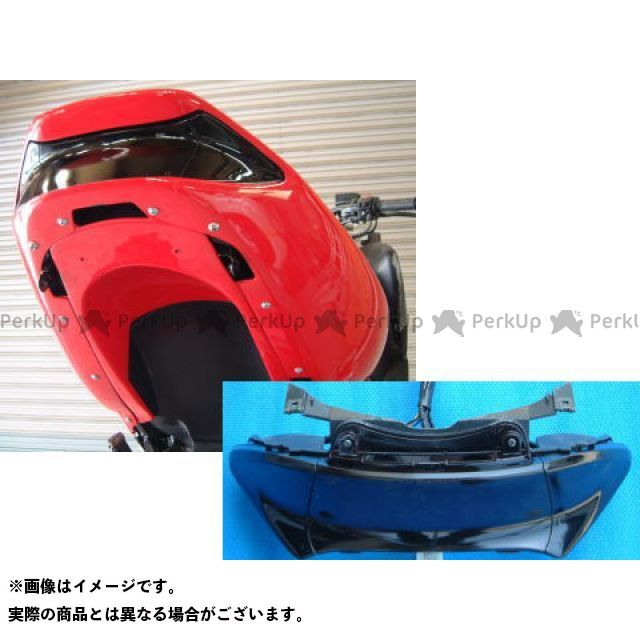 弥生 TMAX500 カウル・エアロ シートカウルフェンダー シルバーカーボン