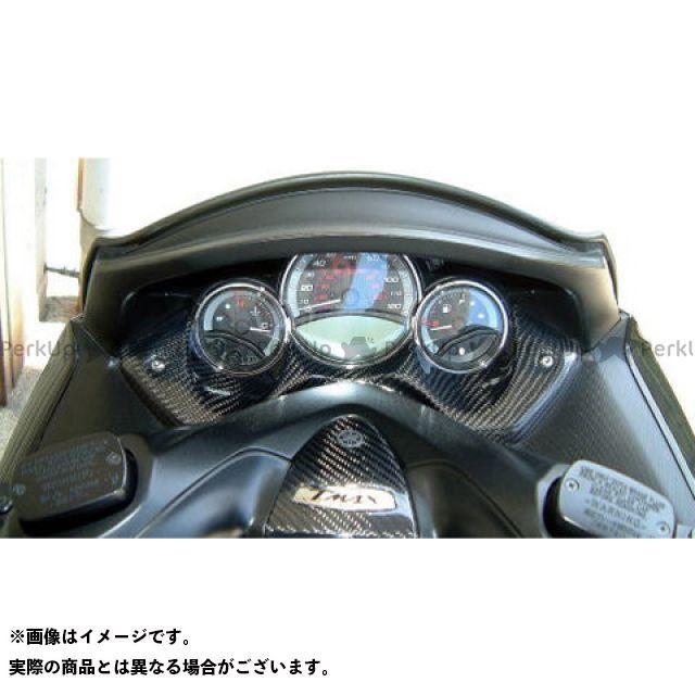 弥生 TMAX500 メーターカバー 素材:シルバーカーボン ヤヨイ