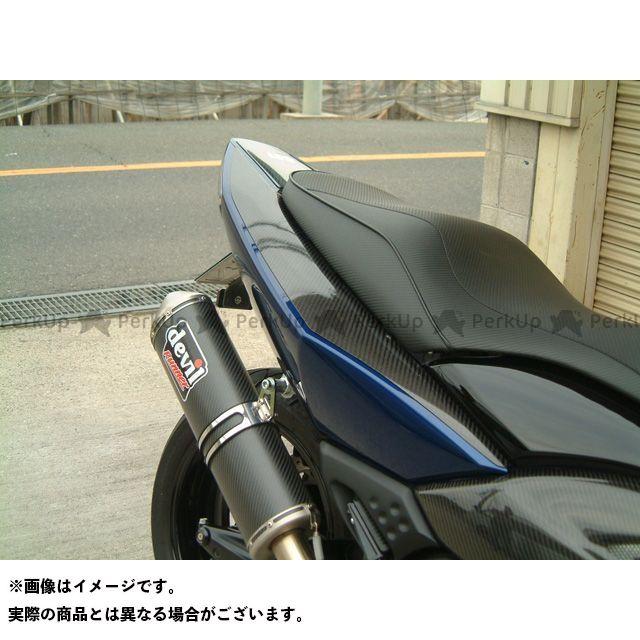 弥生 TMAX500 カウル・エアロ シートカウルプロテクター2 シルバーカーボン