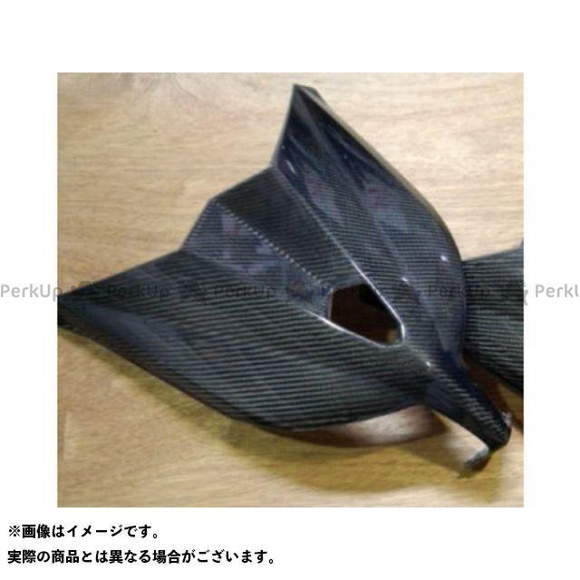 弥生 ヤヨイ カウル・エアロ 外装 弥生 TMAX530 フロントフェイス1 シルバーカーボン ヤヨイ