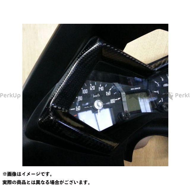 弥生 TMAX530 メーターカバー2 素材:シルバーカーボン ヤヨイ
