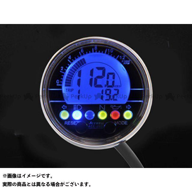 送料無料 エースウェル ACE WELL スピードメーター ACE-2802 ACE WELL多機能デジタルメーター