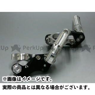 【エントリーで更にP5倍】ボアエース SR400 SR500 タンデムステップ(ショック径39mm用) カラー:シルバー BORE-ACE