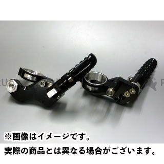 【エントリーで更にP5倍】ボアエース SR400 SR500 タンデムステップ ショック径41mm用(ブラック) BORE-ACE