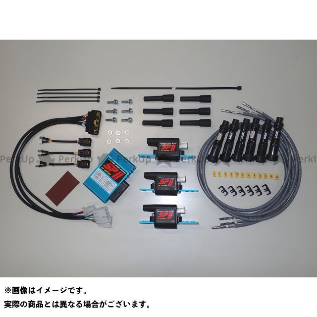 ASウオタニ CBX1000 CDI・リミッターカット SPIIフルーパワーキット H.CBX1000 コードセット付