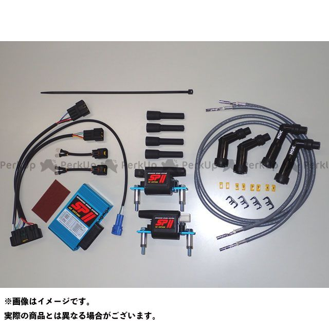 ASウオタニ ゼファー カイ CDI・リミッターカット SPIIフルパワーキット K.ZEPHYR400KAI コードセット付き