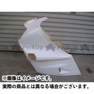 スティングR&D ニンジャ1000RX カウル・エアロ GPZ1000RX用FRP製ハーフカウル ホワイト