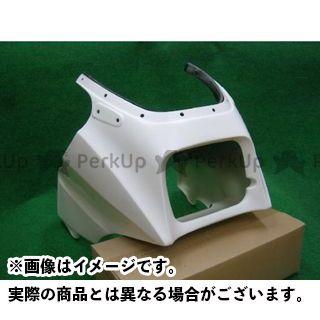 スティングR&D ニンジャ900 GPZ900R用FRP製アッパーカウル 埋め込み型ウインカー使用 カラー:ホワイト スティングアールアンドディー