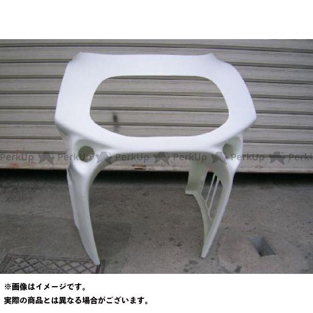スティングR&D GSX-R750 カウル・エアロ GSX-R750用ハーフカウル(91年式形状) ホワイト
