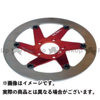 【エントリーで最大P21倍】ベルリンガー W650 Fディスク/ステン AERONAL 右 297mm カラー:レッド BERINGER