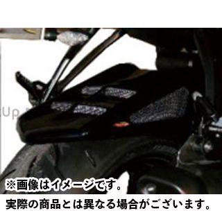 パワーブロンズ ニンジャZX-6R メッシュド・インナーフェンダー M 左右+表面4穴メッシュ カラー:ブラック/シルバー Powerbronze