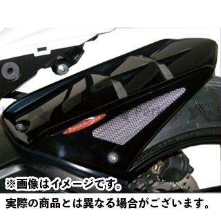 パワーブロンズ GSX-R1000 メッシュド・インナーフェンダー M 左右+表面4穴メッシュ カラー:ブラック/シルバー Powerbronze