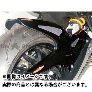 パワーブロンズ F800R メッシュド・インナーフェンダー ブラック/シルバーM 左右サイドメッシュ(チェーンケース一体型) Powerbronze