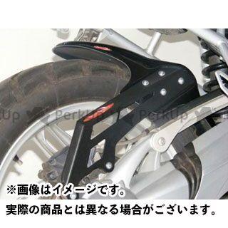 パワーブロンズ GSR750 メッシュド・インナーフェンダー ブラック/シルバーM 左右+表面4穴メッシュ(チェーンケース一体型) Powerbronze