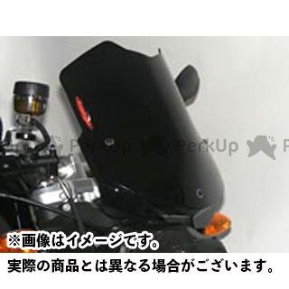 パワーブロンズ F800R ネイキッド・スクリーン カラー:イリジウムシルバー Powerbronze