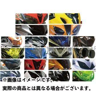 パワーブロンズ GSX-R1000 GSX-R600 GSX-R750 バイク・サングラス/レンズシールド カラー:イリジウムシルバー Powerbronze